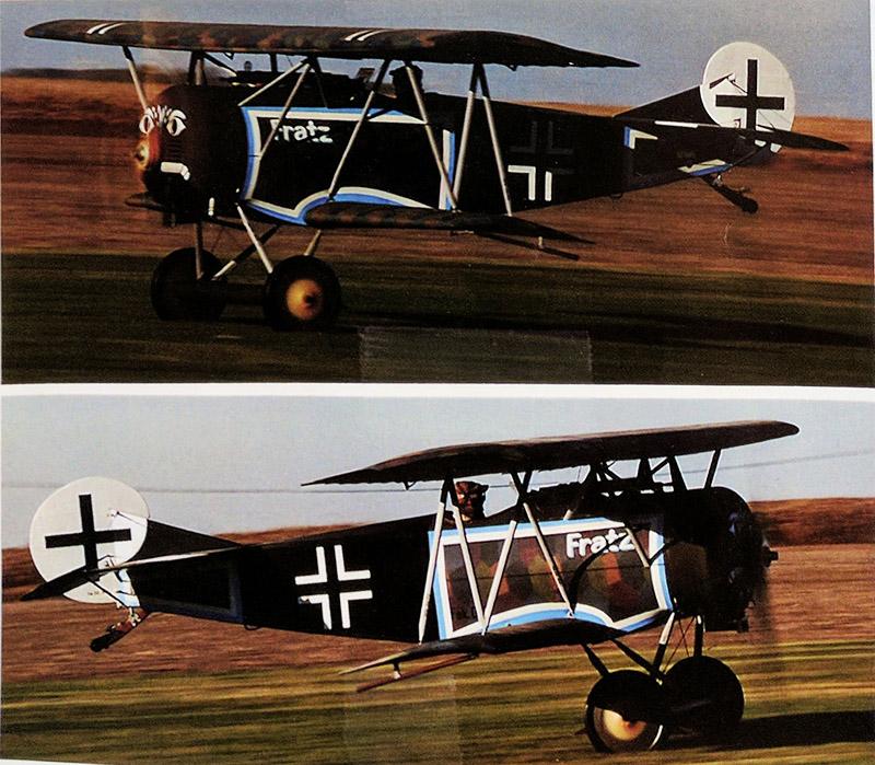 1918 Full Scale Fokker D-V1